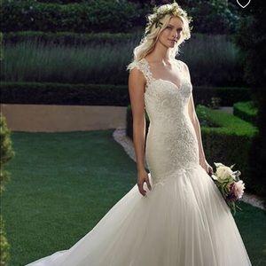 """Casablanca 2237 """"Daffodil"""" Wedding Dress"""